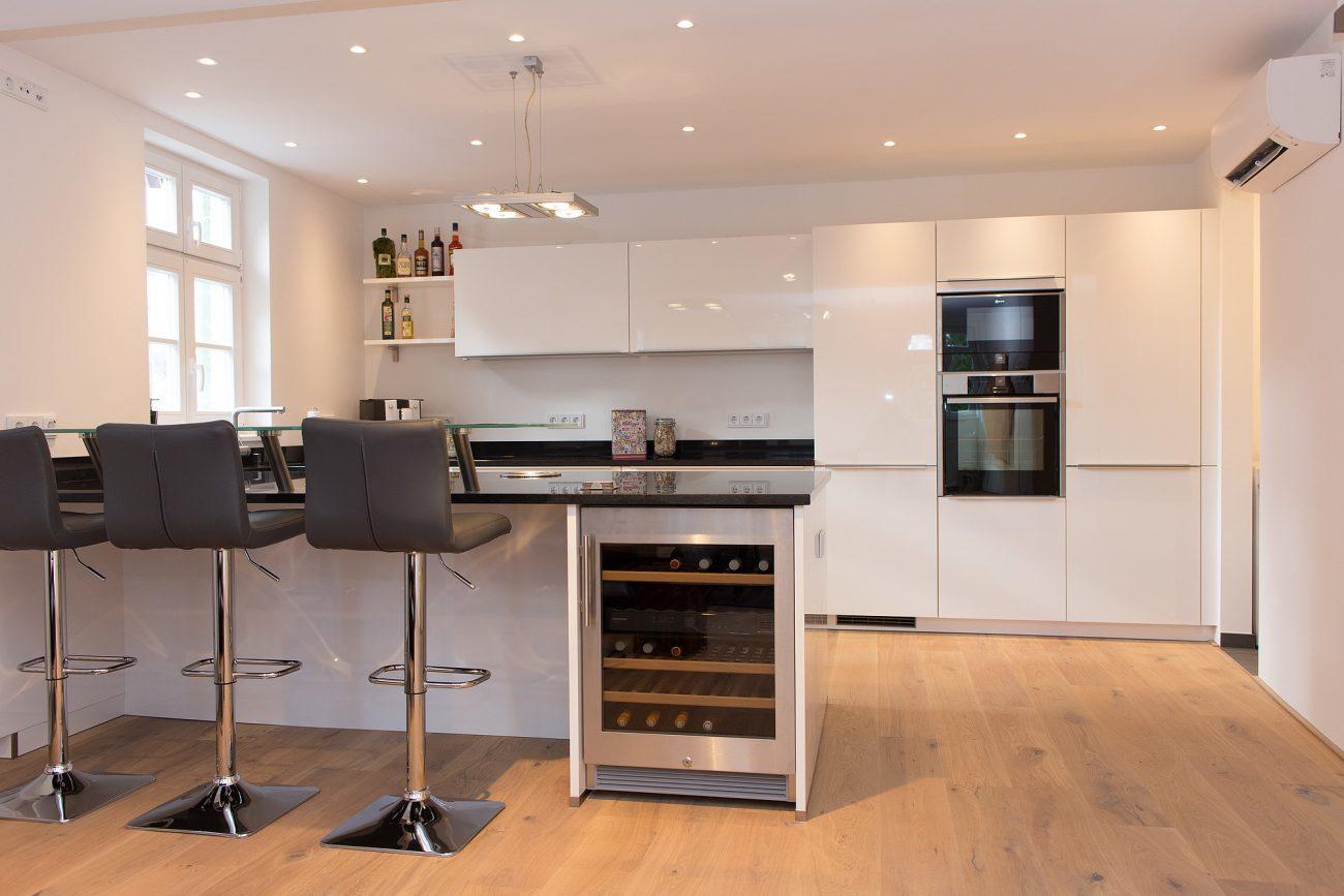 Immobilienfotografie Küche